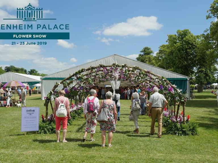 Win Family Ticket to Blenheim Palace Flower Show