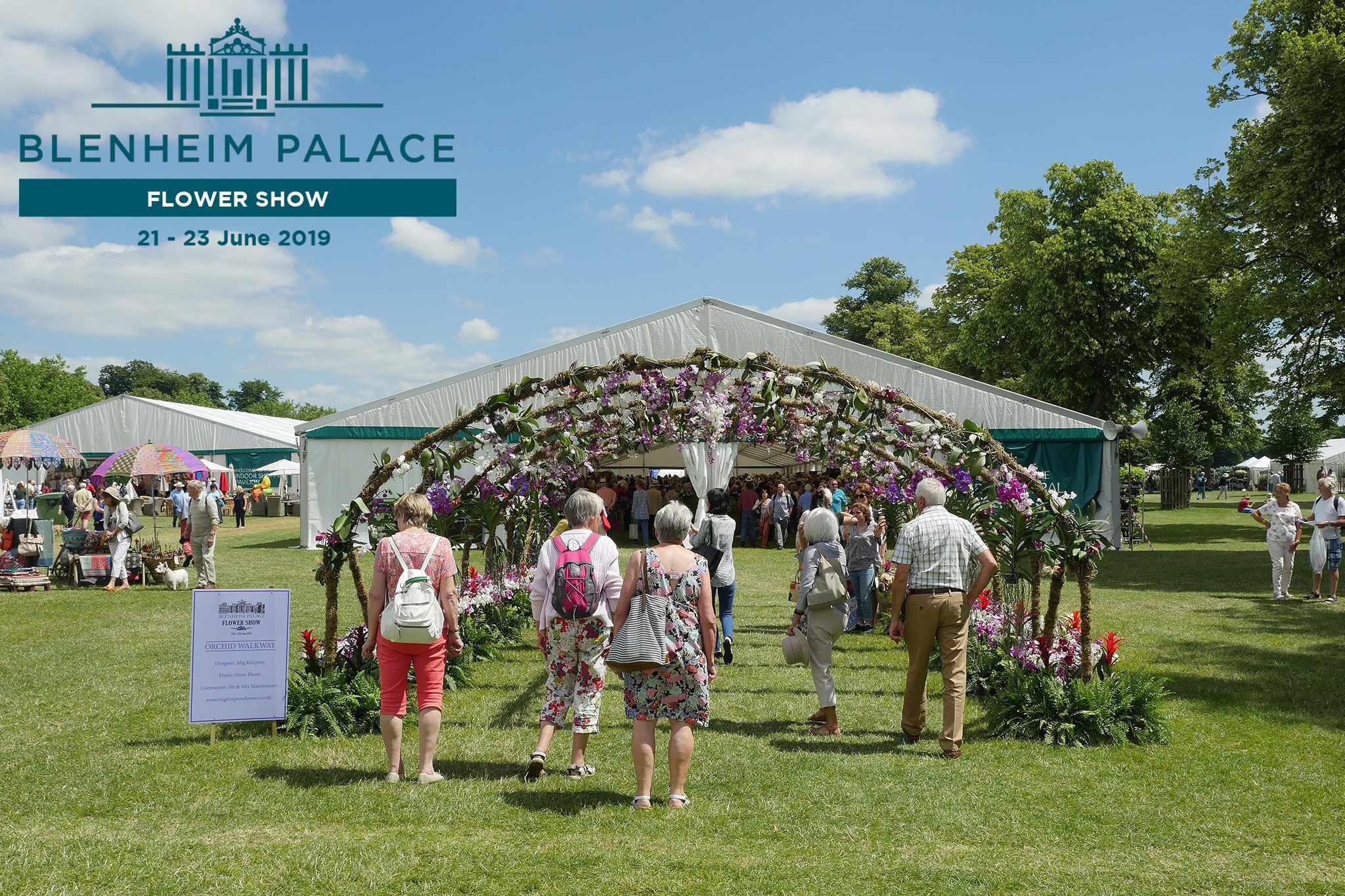 Blenheim Palace Flower Show - win tickets