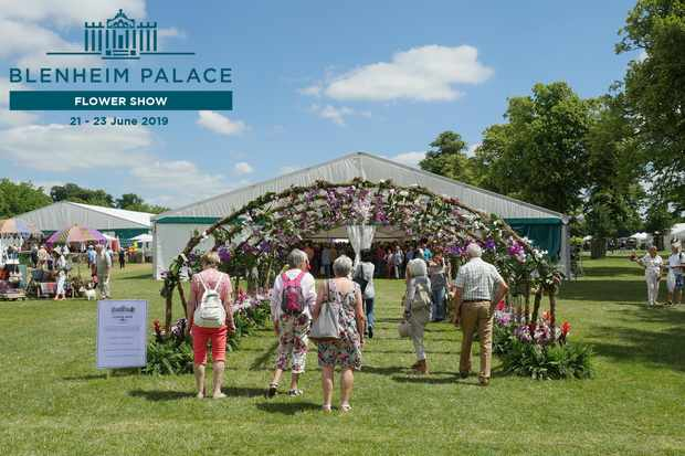 Blenheim Palace Flower Show - win tickets