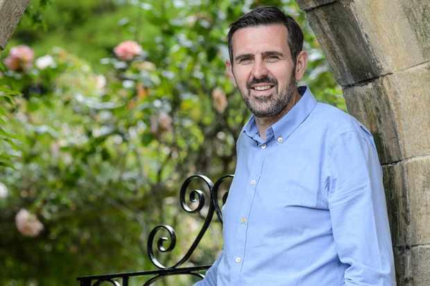 BBC Gardeners' World presenter, Adam Frost