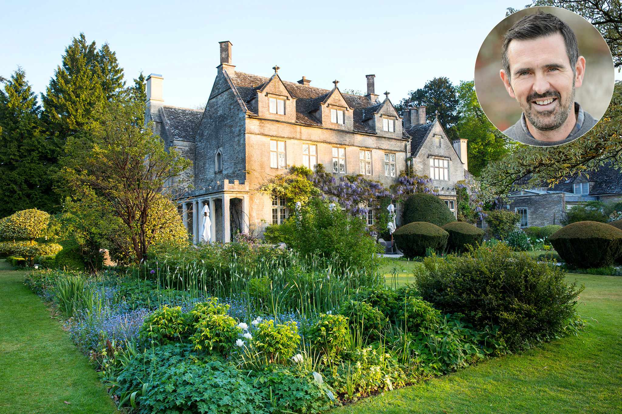 Barnsley House on Cotswolds tour