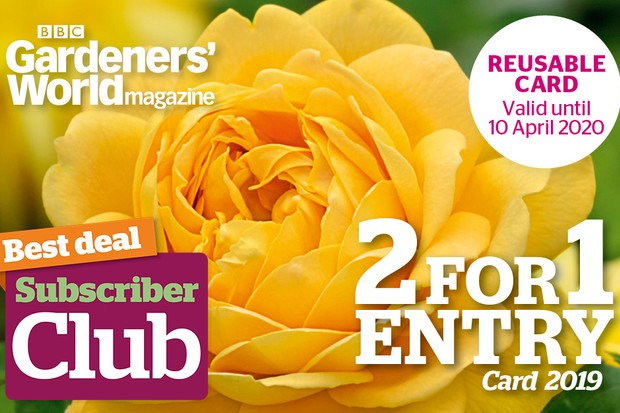 Subscribers save £1 on extra copies of the 2-for-1 guide 2019