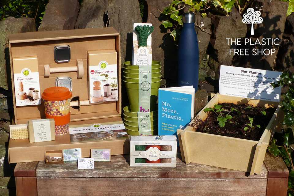 Plastic free product bundle for gardeners from The Plastic Free Shop