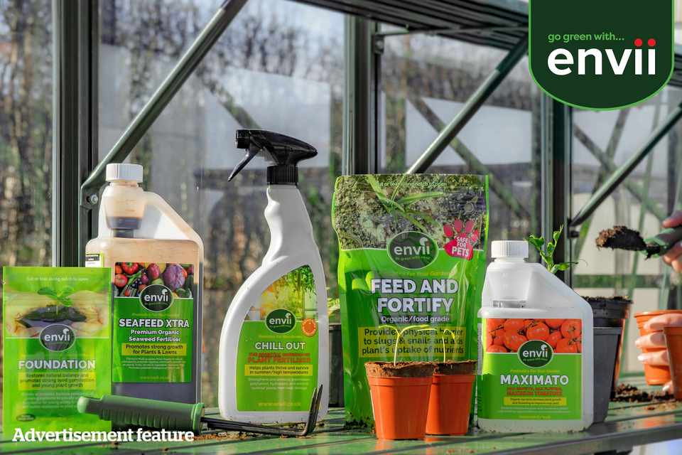 Eco-gardening products bundle from Envii