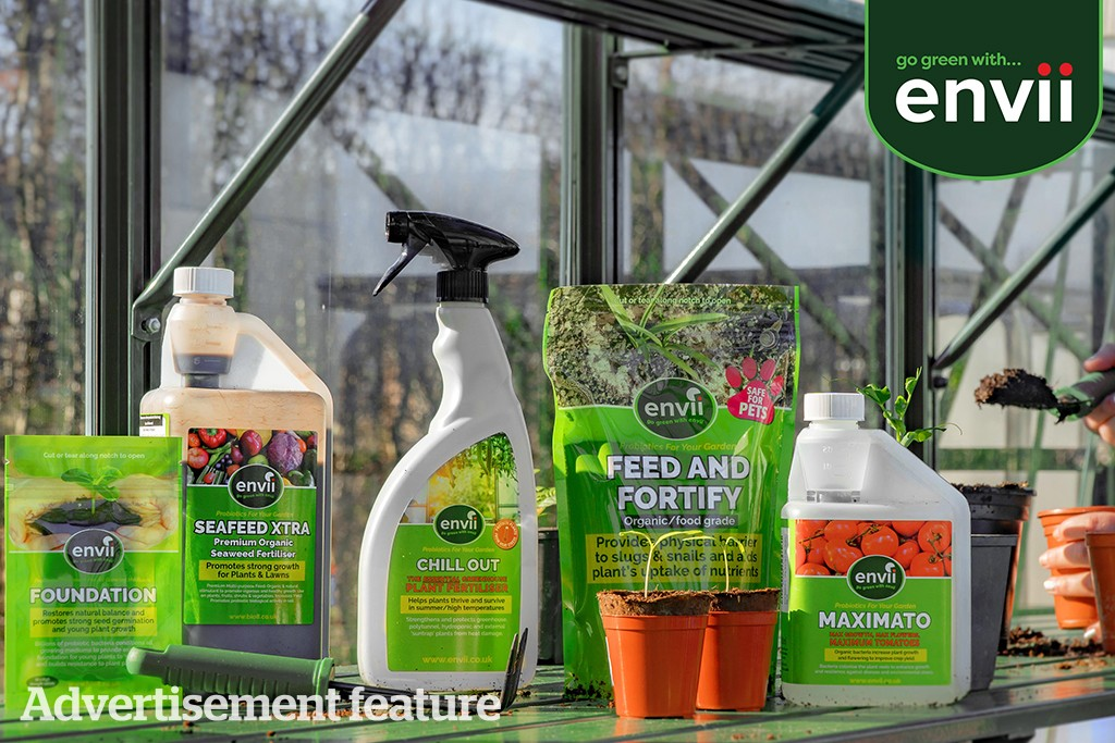 Win eco-friendly gardening products from Envii