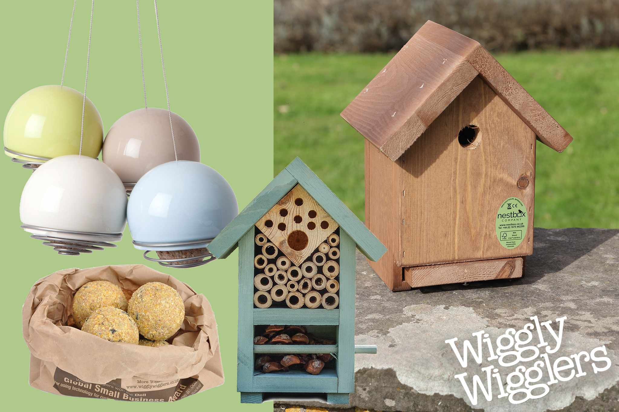 Subscriber Club exclusive: Wildlife products bundle from Wiggly Wigglers