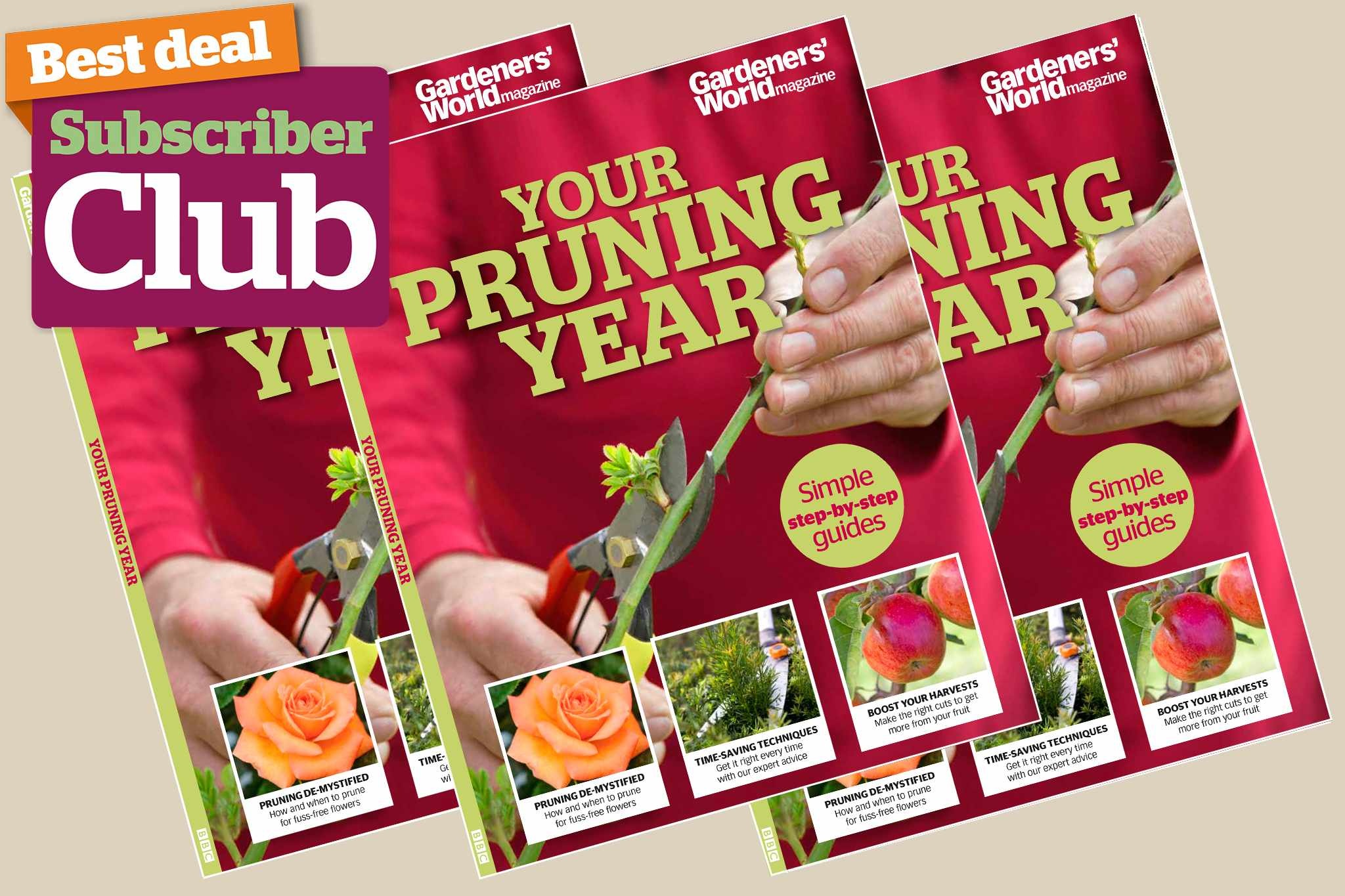 Your Pruning Year bookazine