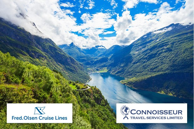 Cruise to the Norwegian fjords - Gardens of the Year 2019 competition prize