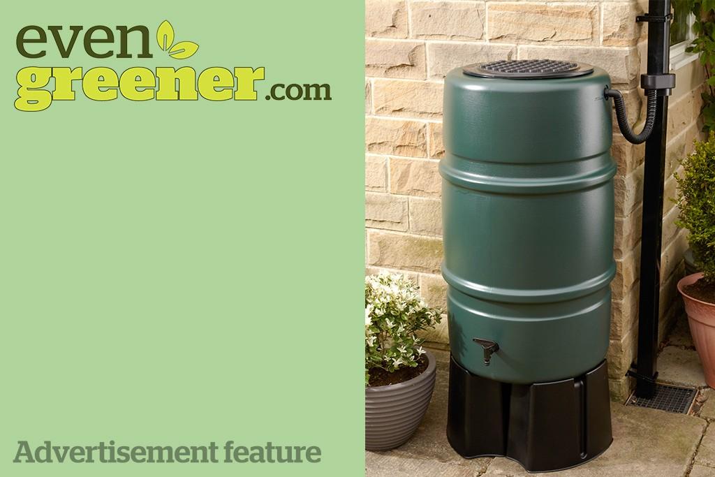 Win a water butt kit from evengreener.com