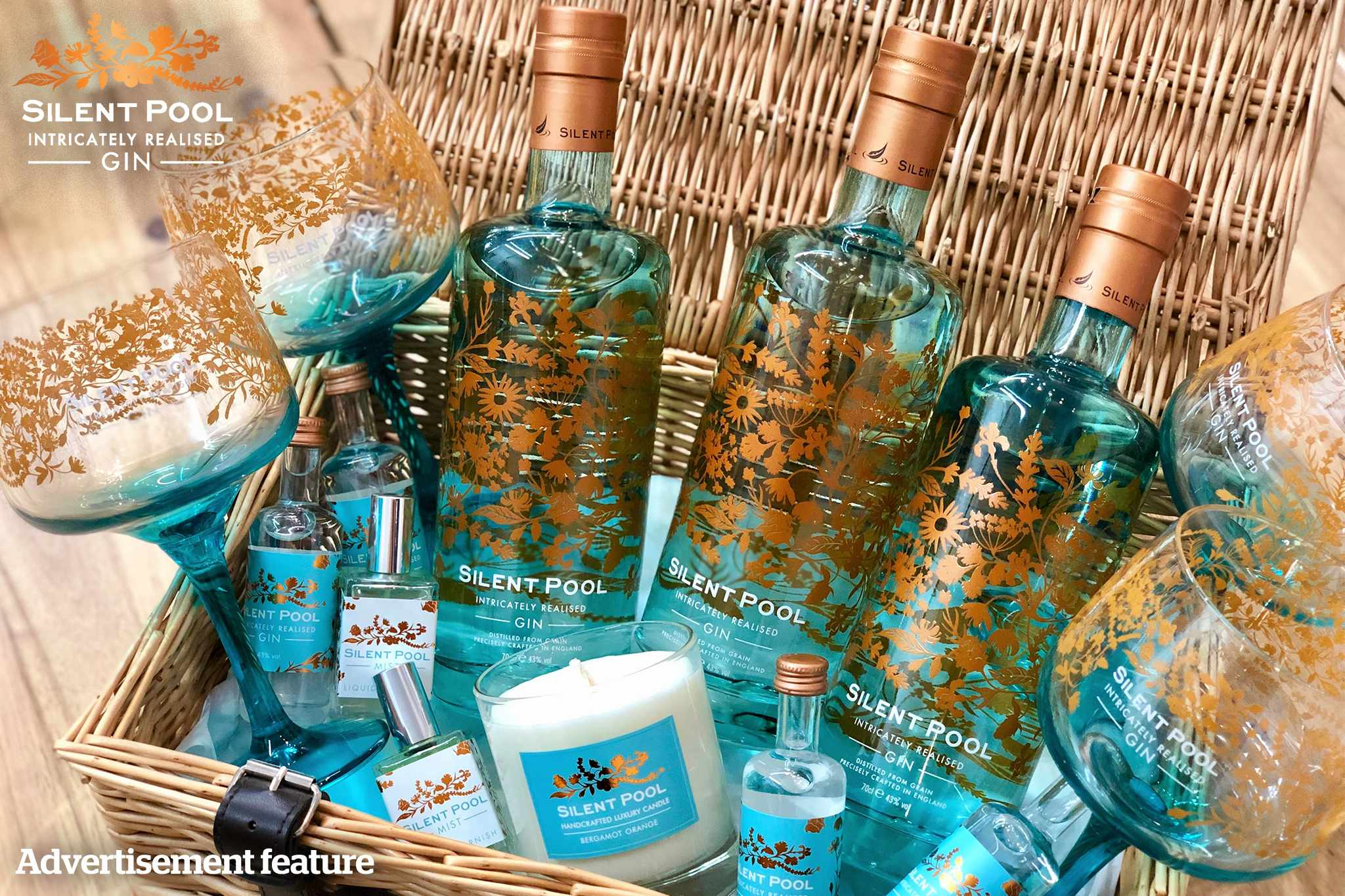 Hamper from Silent Pool Gin
