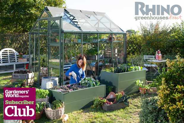 Subscriber competition - win a Rhino Greenhouse