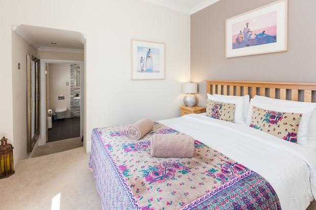 The Towans Room in the luxury B&B at Sandbank
