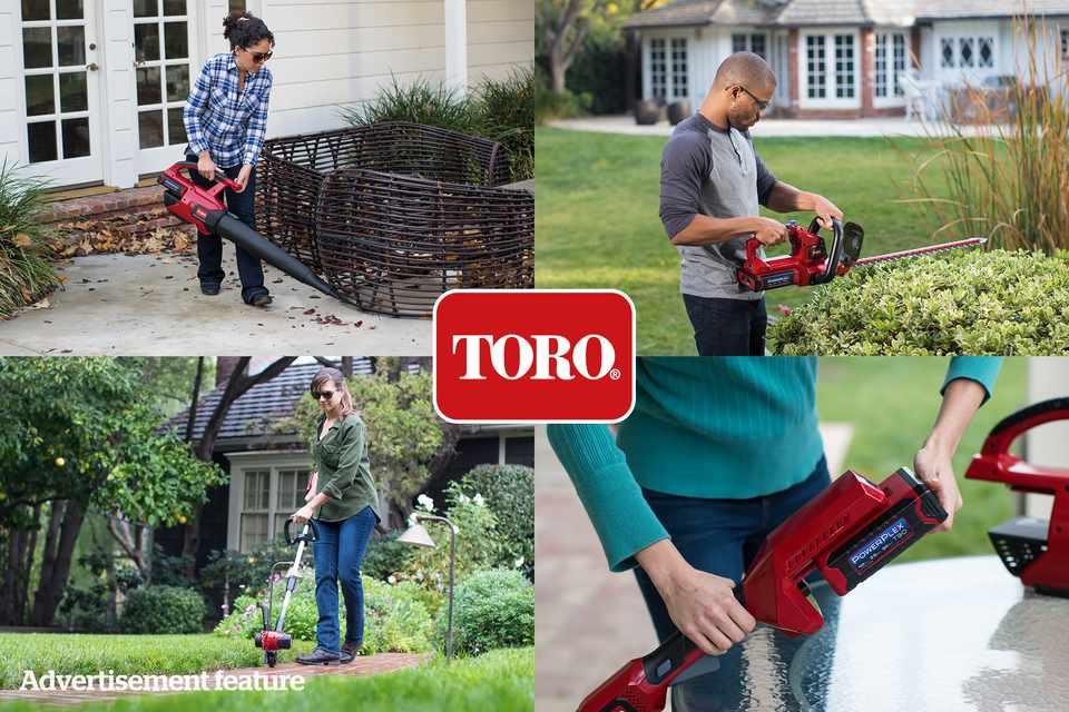 Toro PowerPlex tool bundle from Hayter