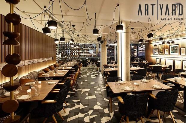 Art Yard restaurant at Bankside Hotel