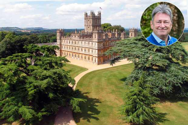 Highclere Castle with Alan Titchmarsh