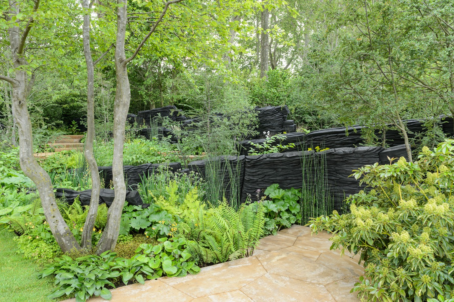 The M&G Garden by Andy Sturgeon at the RHS Chelsea Flower Show 2019