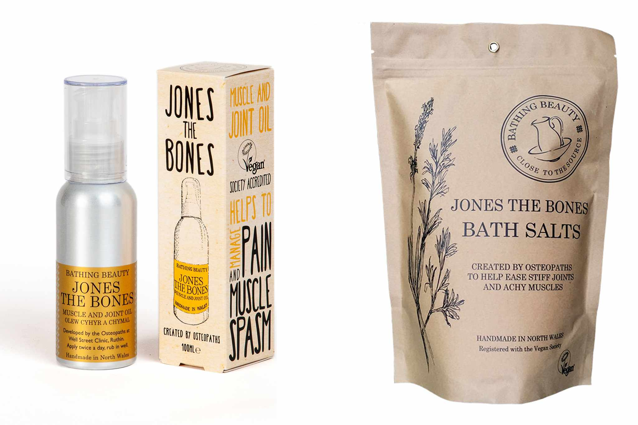 Natural remedies for bones and muscles from Bathing Beauty