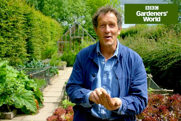 Monty Don sowing kohlrabi seeds
