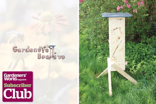 Win a Gardeners' Beehive, worth £300 in this subscriber-only competition