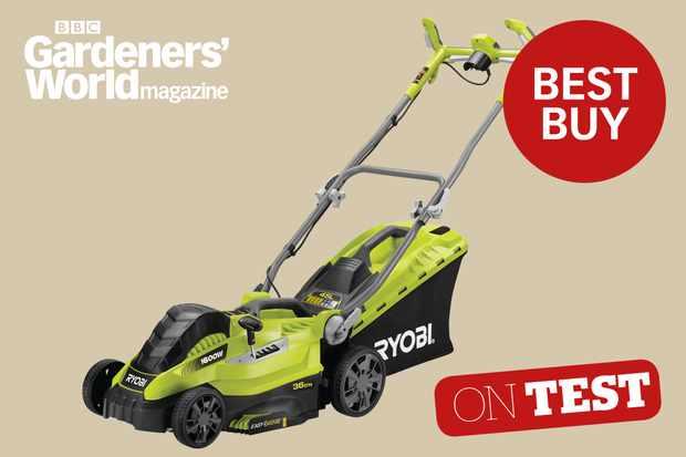 Ryobi RLM16E36H mower review