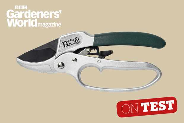 Burgon and Ball Ratchet Pruner secateurs review