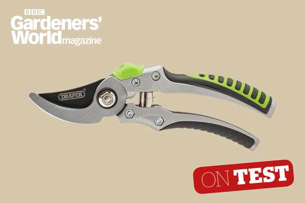 Draper Non-slip Bypass secateurs 36548 review