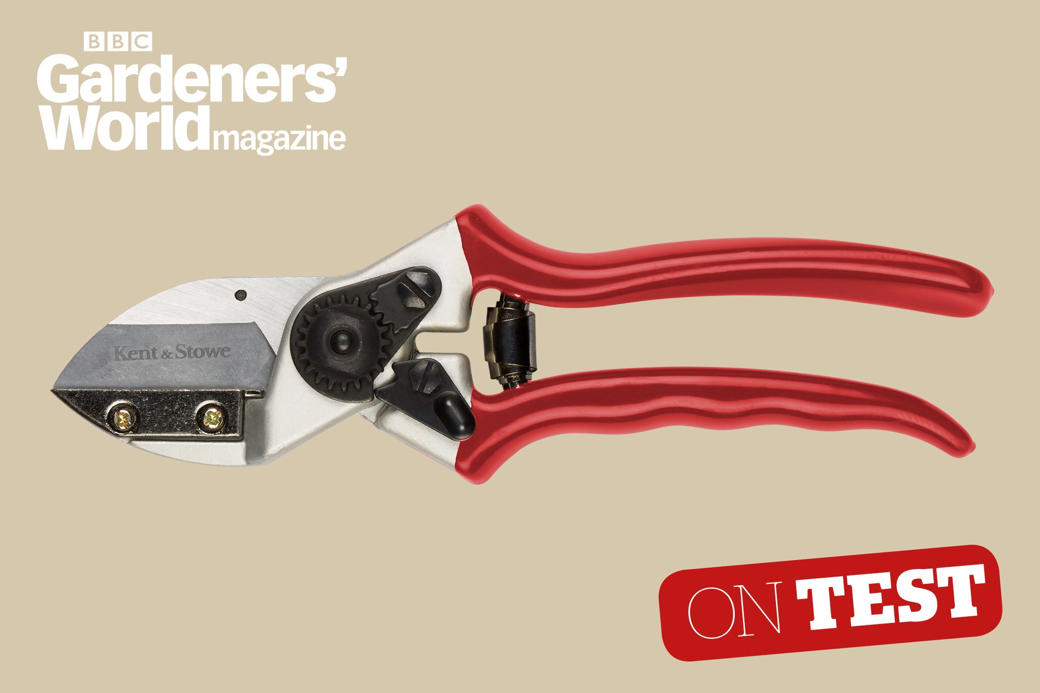 Kent and Stowe Traditional Bypass Secateurs 8/""