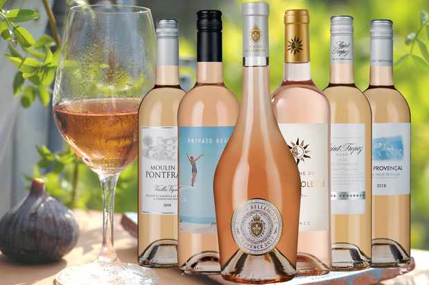 Provencal rose wine, six bottle collection from Laithwaite's Wine