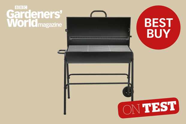 Boston half oil drum charcoal barbecue review