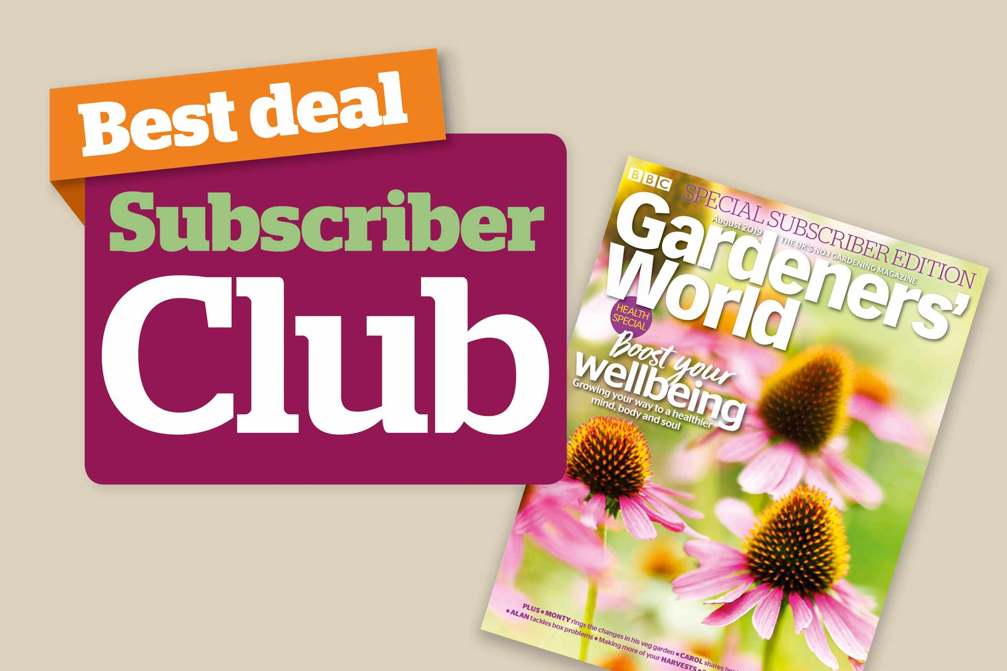 Great offers from BBC Gardeners' World Magazine - BBC