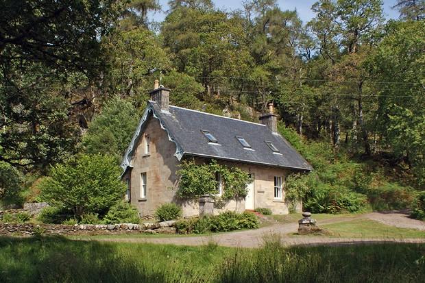 Rose Cottage on the Ardtornish Estate