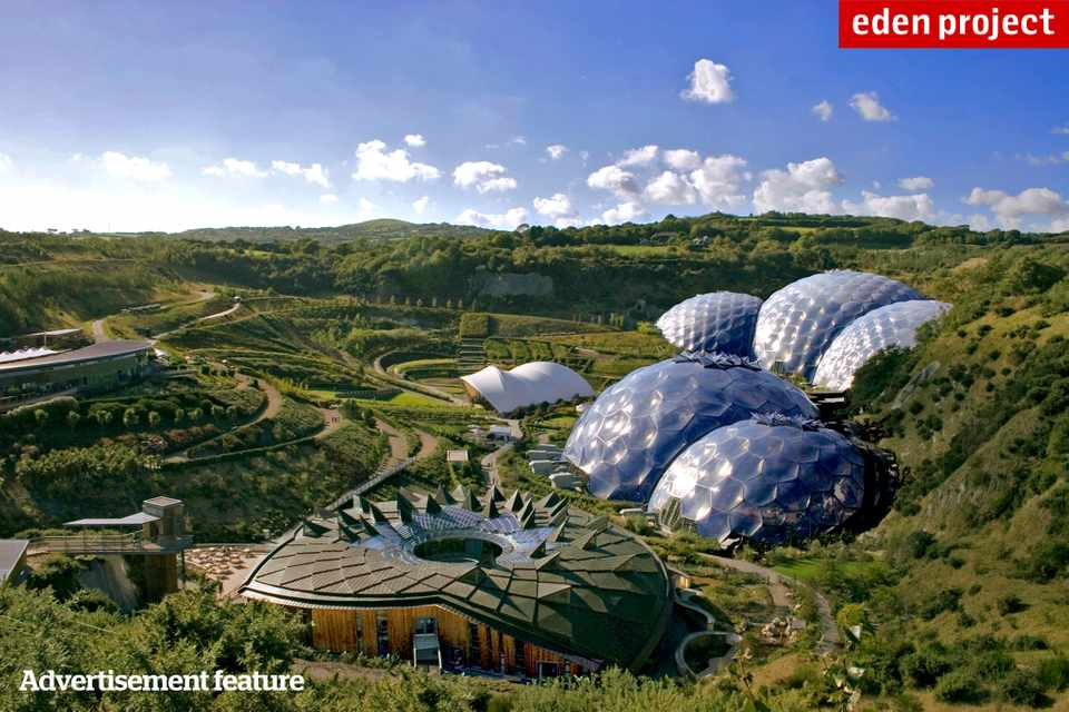 Win tickets to the Eden Project, plus a two-night stay at Fowey Harbour Hotel