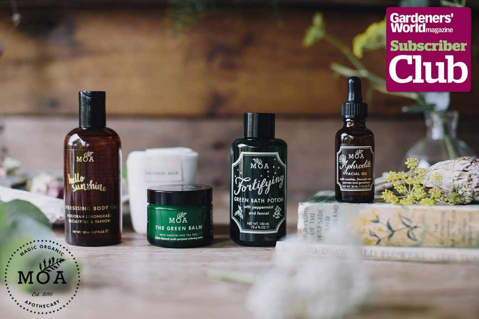 Win over £200 worth of skincare products from MOA