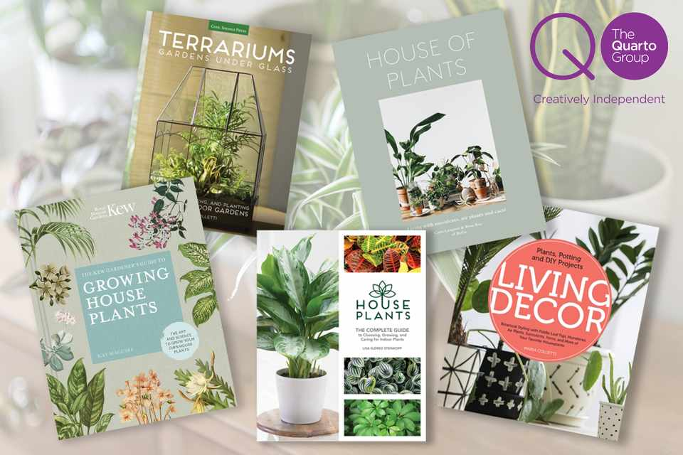 Win a bundle of books on house plants from The Quarto Group