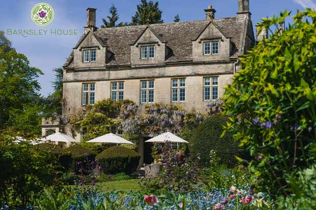 Win a stay at luxury Cotswold hotel, Barnsley House