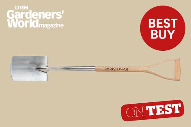Kent and Stowe Stainless Steel Digging Spade review from BBC Gardeners' World Magazine