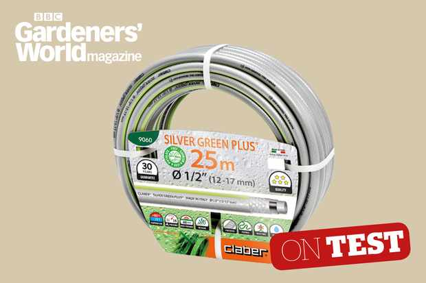 Claber Silver Green Plus garden hose review - BBC Gardeners' World Magazine