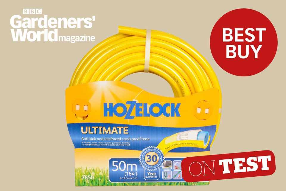 Hozelock Ultimate garden hose review - BBC Gardeners' World Magazine