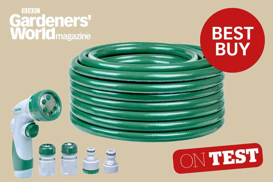 RHS Everflow EasyControl garden hose review - BBC Gardeners' World Magazine