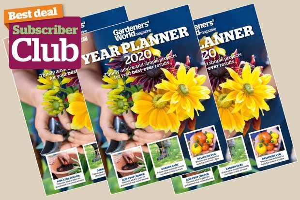 Gardeners' World Magazine bookazine, Year Planner 2020