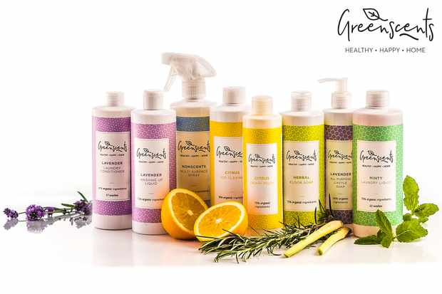 Win a bundle of organic cleaning products from Greenscents
