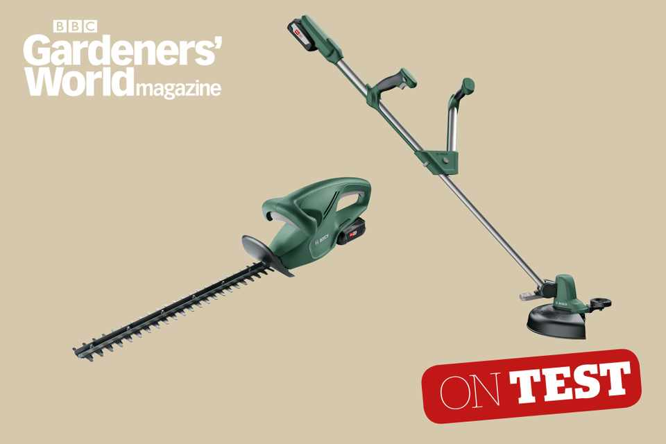 Bosch 18V Power for ALL cordless tool system product review from BBC Gardeners' World Magazine