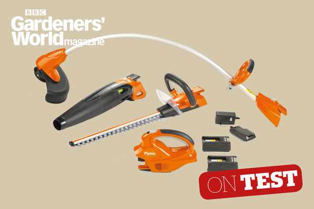 Flymo C-Link System cordless tool system product review from BBC Gardeners' World Magazine