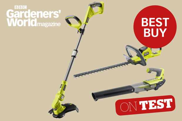 Ryobi One+ System cordless tool system product review from BBC Gardeners' World Magazine