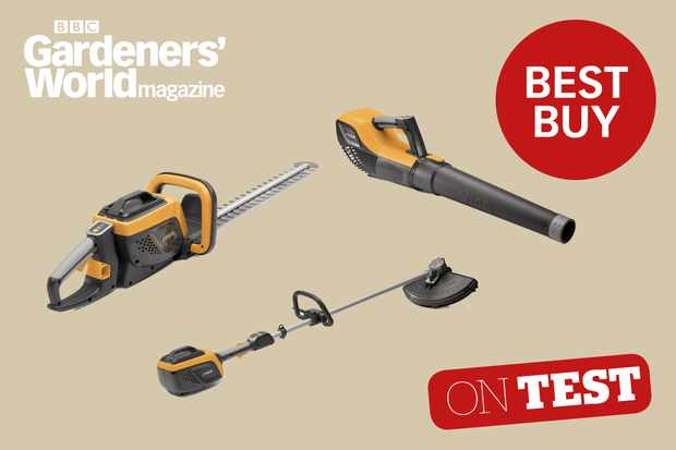 Stiga 500 Series cordless tool system product review from BBC Gardeners' World Magazine