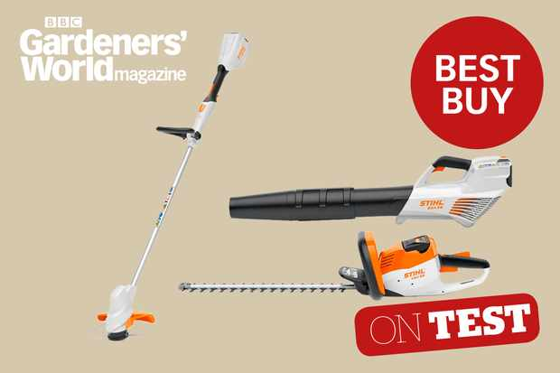 Stihl Compact Cordless System product review from BBC Gardeners' World Magazine