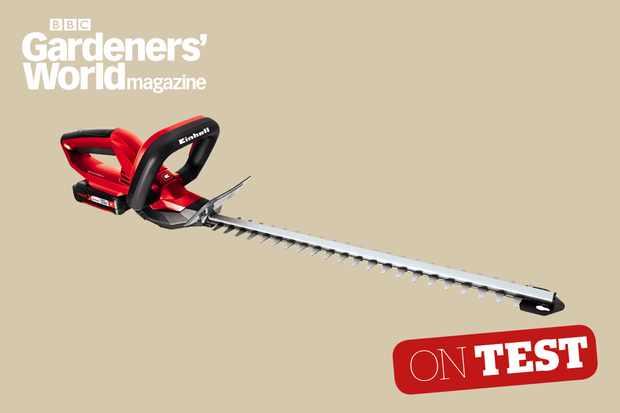 Einhell GECH1846 Li hedge trimmer review from BBC Gardeners' World Magazine