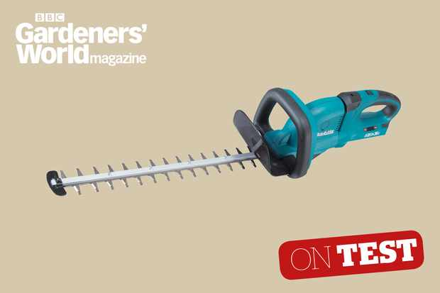 Makita DUH551Z hedge trimmer review from BBC Gardeners' World Magazine