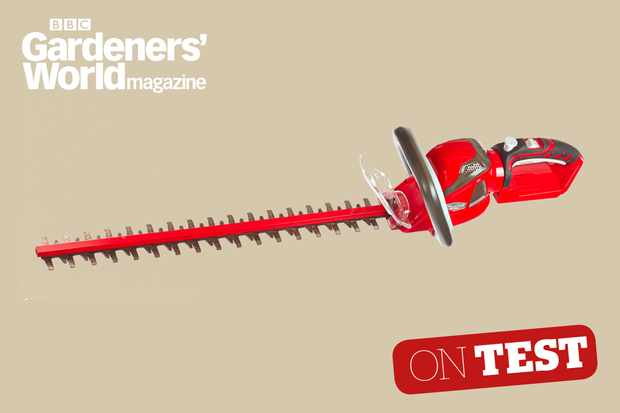 Mountfield MH48 Li hedge trimmer review from BBC Gardeners' World Magazine