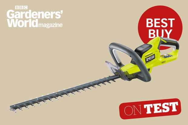 Ryobi ONE+ OHT1845 hedge trimmer review from BBC Gardeners' World Magazine